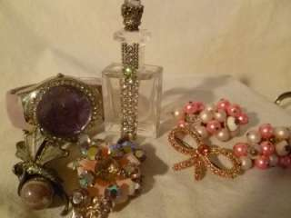 HUGE VINTAGE ESTATE JEWELRY LOT SIGNED TRIFARI PREMIER DESIGN ITALY