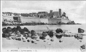 ANTIBES JUAN LES PINS 06 CPA Le Vieux VILLAGE vers 1900