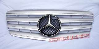Parrilla Cromo Plata Mercedes W211 Clase E AMG E55 E63 E240 E280 E350