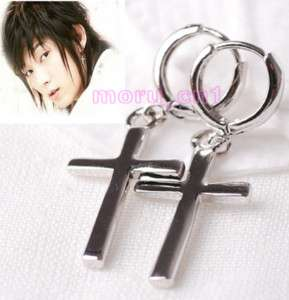Korean Drama TV MY GIRL Lee Jun Ki Gi Cross Earrings