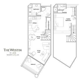 Westin St John, 1BR Villa Rental 7/21 7/28, 2012 USVI Renovated, Pools