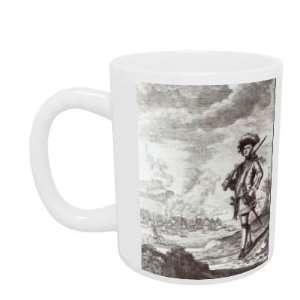 Captain Henry Morgan at the sack of Panama..   Mug   Standard Size