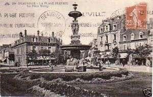14   cpa   DEAUVILLE   La Place Morny