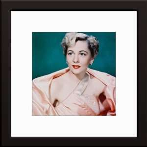 Joan Fontaine Custom Framed And Matted Color Photo Total Size 20x20