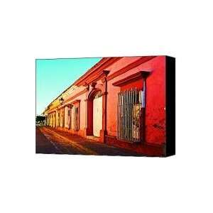 Colonial Casas by Michael Fitzpatrick Canvas Print / Canvas Art