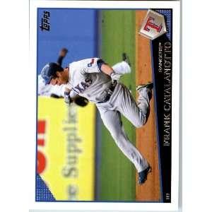 2009 Topps Baseball # 178 Frank Catalanotto Texas Rangers