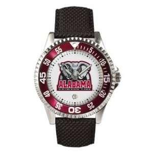 Alabama Crimson Tide Competitor Leather Mens NCAA Watch