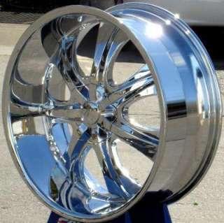 Wheel + Tire Packages 26 inch Triple chrome rim U2 35