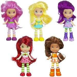 Strawberry Shortcake Mini Dolls in Personal Purses at HSN
