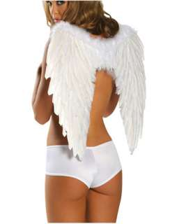 White Feather Angel Wings  Wings Accessories & Makeup for Halloween