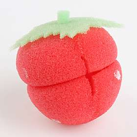 de fresas del pelo en forma de esponja a rodillo rizador de rollo