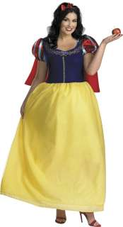 Deluxe Plus Size Snow White Costume   Disney Princess Costumes
