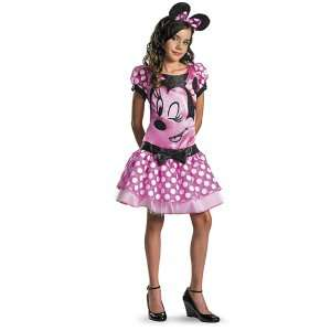 Disney Mickey Mouse Clubhouse   Pink Minnie Mouse Tween Costume