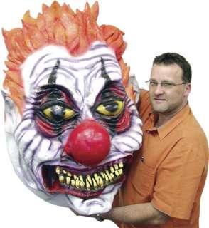 Evil Clown Garage Door Prop   Decorations & Props