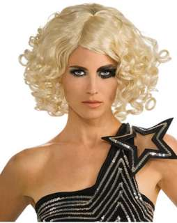Lady Gaga Curly Blonde Wig  Wholesale Halloween TV & Movie one of our