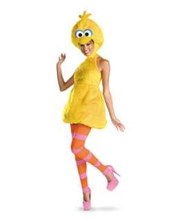 Womens Sesame Street Big Bird Costume  Wholesale TV and Movie