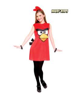 Angry Birds Girls Red Bird Costume   Girls Costumes New for 2012