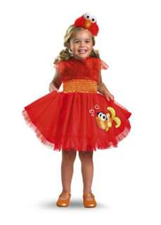Frilly Sesame Street Elmo Costume Toddler TV and Movie Costume at