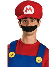 Super Mario Deluxe Hat  Red Mario Cap