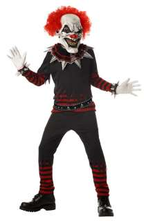 Evil Clown Child Costume for Halloween   Pure Costumes
