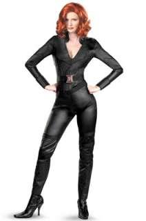Marvel Avengers Movie Black Widow Deluxe Adult Costume for Halloween