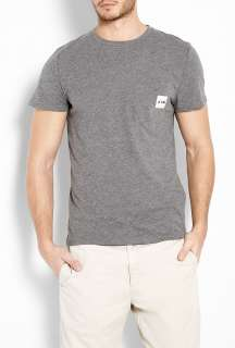 Carhartt  Dark Grey Pocket T Shirt by A.P.C. X Carhartt