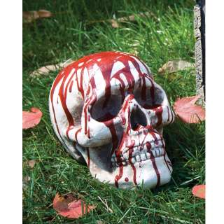 Bloody Skull with Jaw   Bloody Skull with Jaw is made of foam that