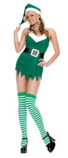 Adult Sexy Christmas Elf Costume   Christmas Costumes   15UA83254