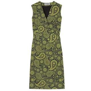 Jil Sander   PAISLEY PRINT COTTON DRESS   Luxury