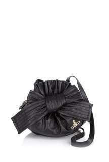 Vivienne Westwood Accessories  Nero Bow Bag by Vivienne Westwood