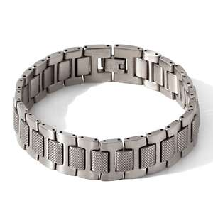 Mens Stainless Steel Watchband Style Link Bracelet