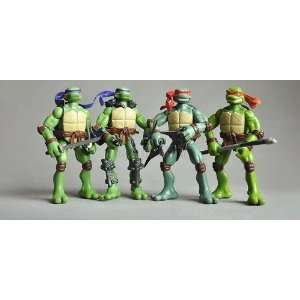 tmnt teenage mutant ninja turtles 6 figure set Toys & Games