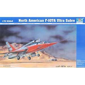 72 North American F107A (Plastic Model Airplane) Toys & Games