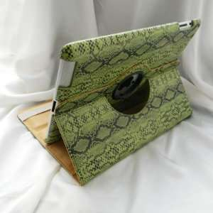 Smart Cover Leather Case Unique Chic Snake Skin Pattern for Apple iPad