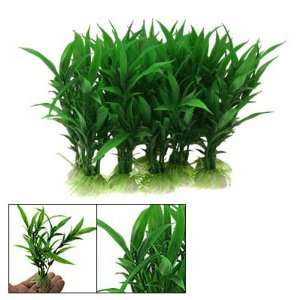 Realistic Green Plastic Aquarium Plants Fish Tank Ornament