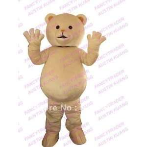 bear mascot costume christmas costume cartoon costume