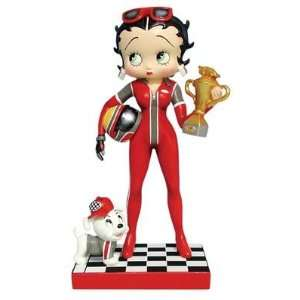Betty Boop Figurine by Westland Giftware   Race Car Betty