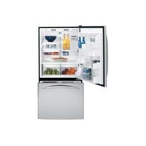 Black Profile 22.2 cu. ft. Bottom Freezer Refrigerator Appliances