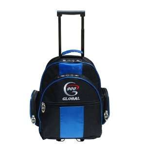 900 Global Value 1 Ball Roller Bowling Bag  Blue/Black