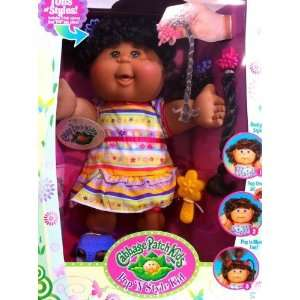 Pop N Style Cabbage Patch Kids Ethnic Doll   Curly Black