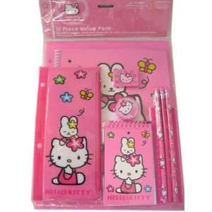 Sanrio Hello Kitty Stationery Set   11 pcs School Supplies
