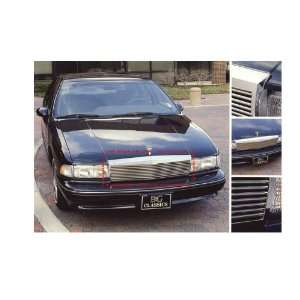 CHEVROLET CAPRICE 1991 1996 LOW PROFILE HORIZON CHROME UPPER GRILLE