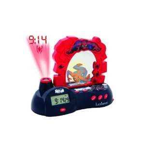 Lexibook RP300SP Spider Man Radio Clock Projector Toys & Games