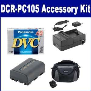 Sony DCR PC105 Camcorder Accessory Kit includes DVTAPE Tape