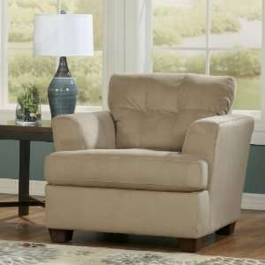Contemporary Khaki Dallas Living Room Chair Furniture & Decor
