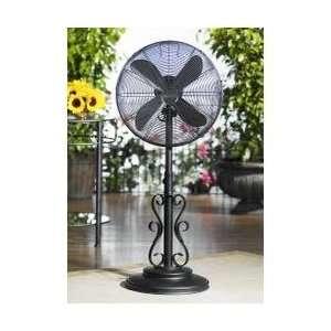 18 Outdoor Fan   Ebony  Deco Breeze   DBF0624 Appliances