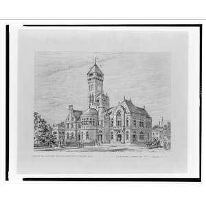 for U.S. Court House and Post Office, Auburn, N.Y. Home & Kitchen