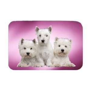 West Highland Terrier Dog Tempered Cutting Board