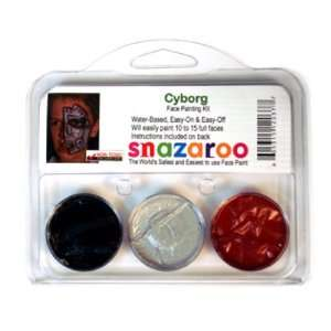 Snazaroo Kits   Cyborg Face Paint Design (3 Colors) Toys