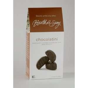 Chocolate Chip Biscotti Covered in Dark Chocolate 7oz Box (6/case